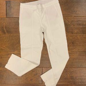 J. Jill essential slim ankle white pants